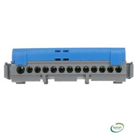 LEGRAND 004842 - Bornier de répartition, neutre, 8 X 16