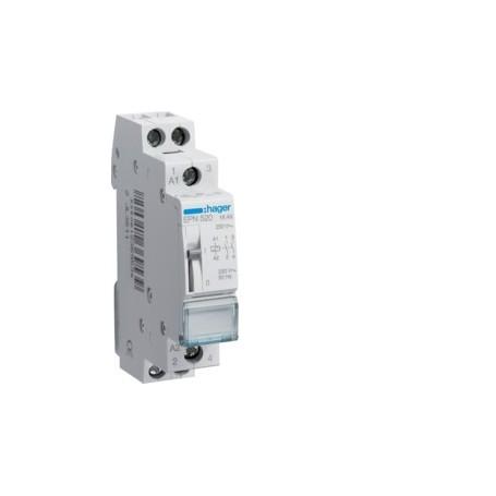 HAGER EPN520 - Télérupteur 2F 230V