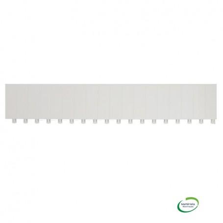 LEGRAND 001664 - Oburateur, 18 modules, blanc
