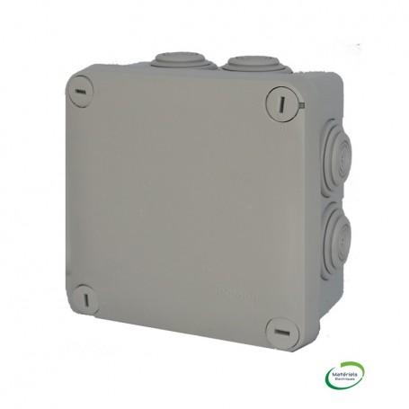 LEGRAND 092022 - Boîte étanche, Plexo, 105X105X55mm