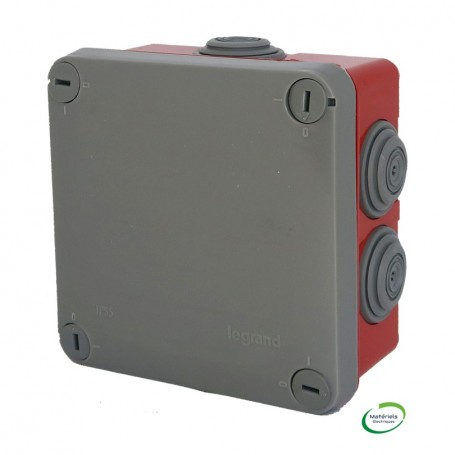 LEGRAND 092025 - Boîte étanche Plexo 960° 105X105X55mm