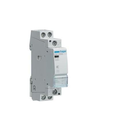 HAGER ESC225S - Contacteur Silencieux, 25A, 2F, 230V