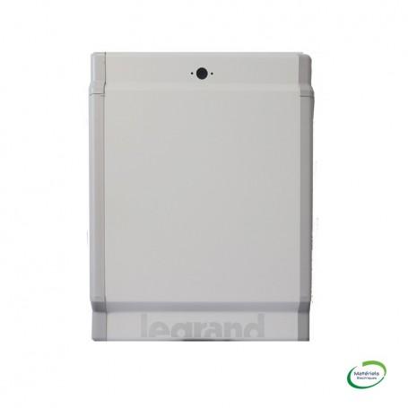 LEGRAND 020252 - Porte galbée métal, Pour coffret 2 Rangées de 24 Modules