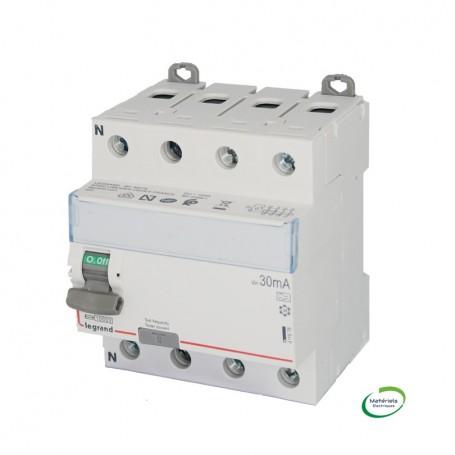 LEGRAND 411676 - Interrupteur différentiel, 4P 63A, 30mA, TypeA