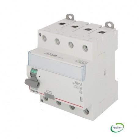 LEGRAND 411696 - Interrupteur différentiel, 4P, 63A, typeF, 30mA