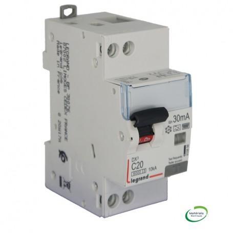 LEGRAND 410856 - Disjoncteur différentiel,2P 20A, 30mA, TypeF