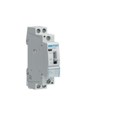 HAGER ETC225S - Contacteur Sil. JN 25A, 2F, 230V