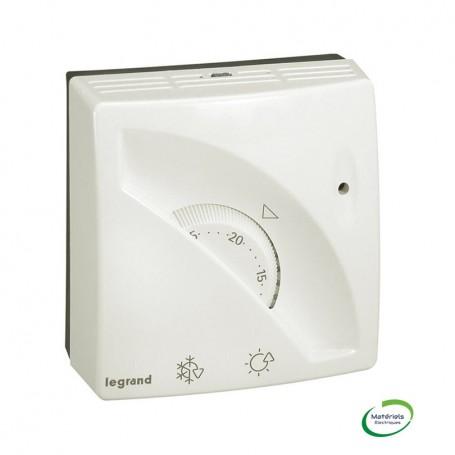 LEGRAND 049898 - Thermostat d'ambiance, mécanique, Complet, Blanc