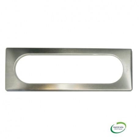 LEGRAND 068976 - Plaque, métal, 4 postes, ETEND, Tungstène, Céliane