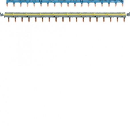 HAGER KBS763G - Barre pontage pour disjoncteur SansVis 18 modules