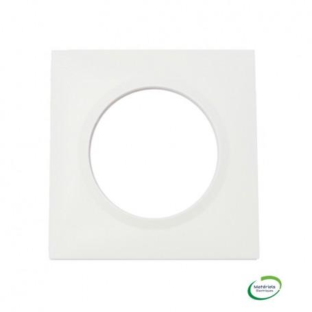 LEGRAND 600801 - Plaque carrée, Dooxie, 1 poste, Blanc