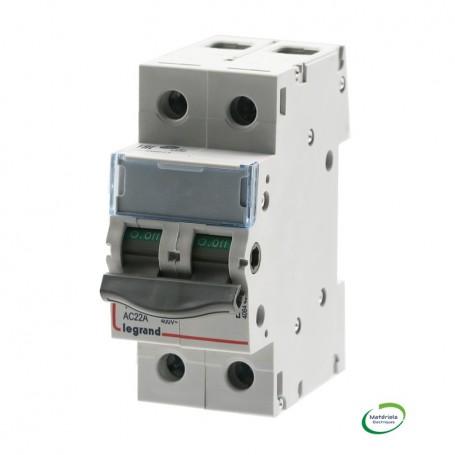 LEGRAND 406449 - Interrupteur-sectionneur, DX³-IS, 2P, 400V, 100A, 2 modules