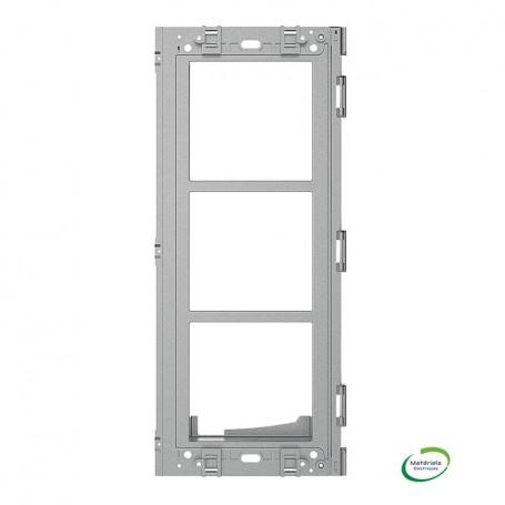 BTICINO 350335 - Support antivandale, Sfera Robur, 3 modules