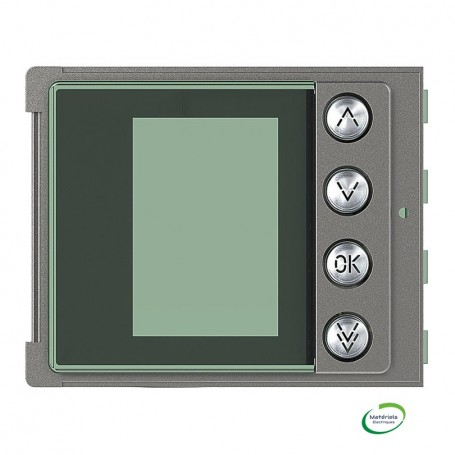 BTICINO 352505 - Façade, Sfera Robur, pour module électronique