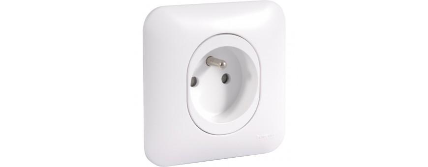 Prise et interrupteur Ovalis