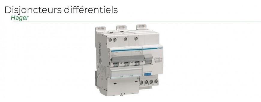 Hager Tertiaire - Disjoncteurs différentiels