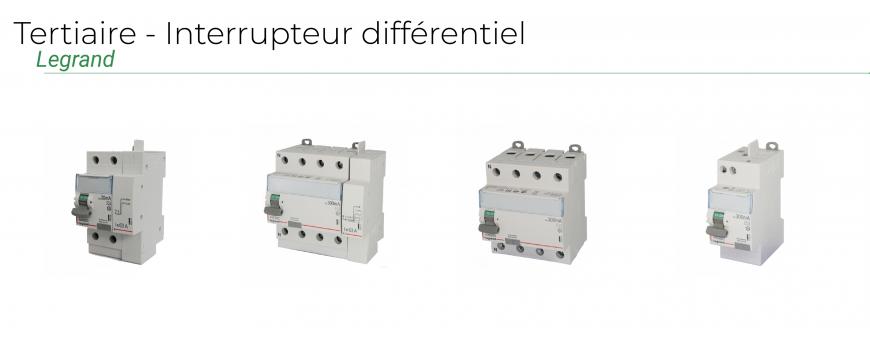 Tertiaire - Interrupteurs différentiels