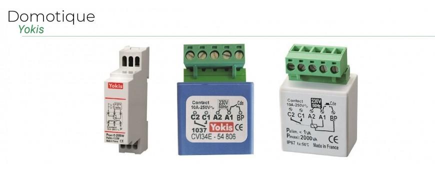 Yokis micromodules d'éclairage, modules radio