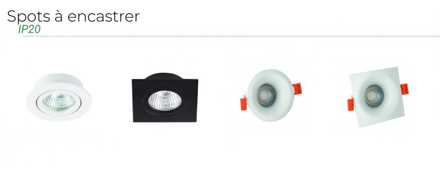 Spots à encastrer IP20