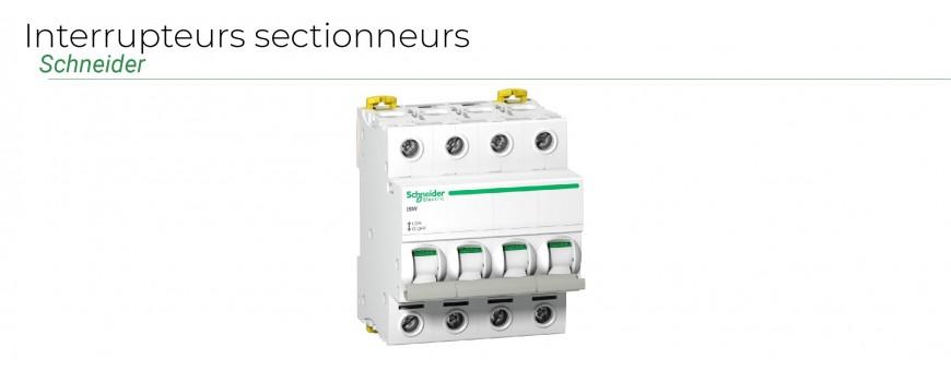Interrupteurs sectionneurs