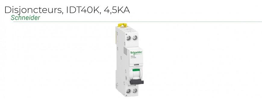 Disjoncteurs IDT40K - 4,5KA