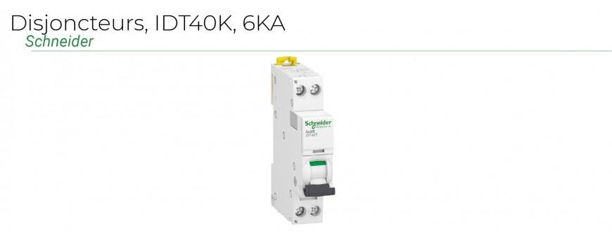Disjoncteurs IDT40K - 6KA