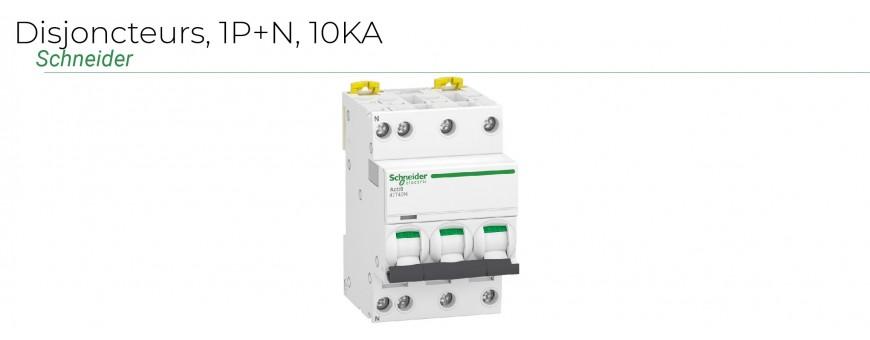 Disjoncteurs IDT40N 1P+N 10KA