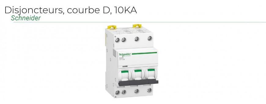 Disjoncteurs courbe D IDT40K 10KA