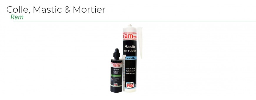 Colle, Mastic, Mortier