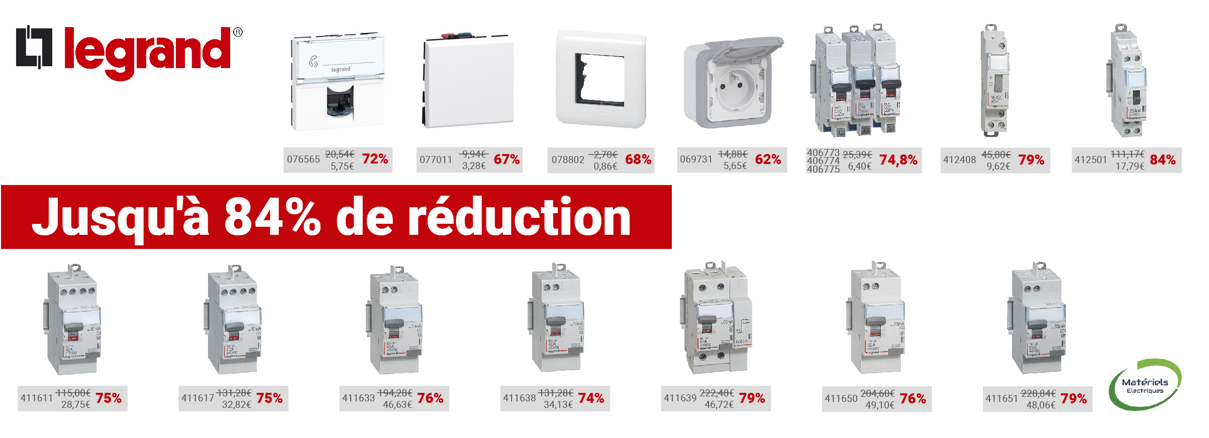 Promotion Legrand