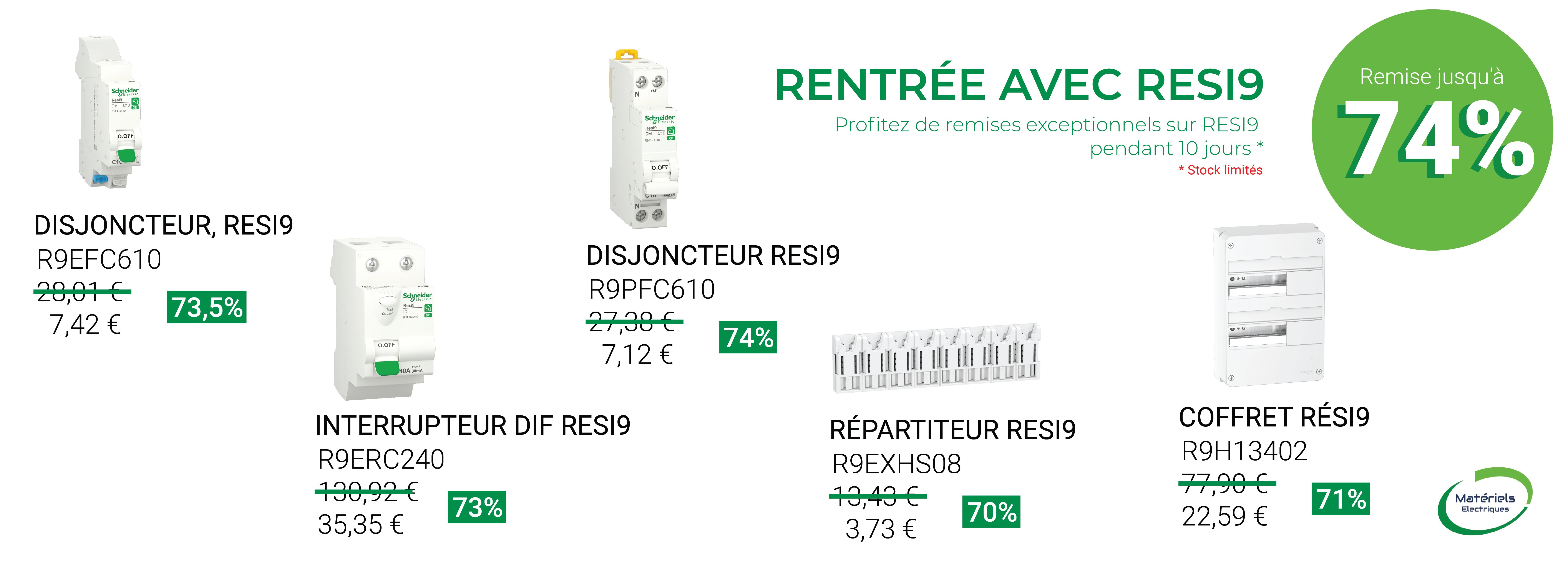 RENTRÉE AVEC RESI9